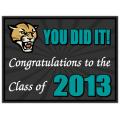 Graduation Sign 107