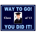 Graduation Sign 108