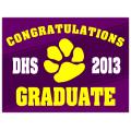 Graduation Sign 109