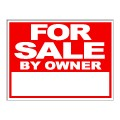 For Sale By Owner FSBO Sign 18x24